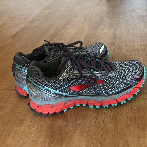 9d74080e2d1 Brooks Shoes - EUC Brooks Adrenaline ASR 12 GTX Trail-Running